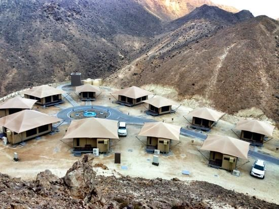 Our Glamping Eco Tents located at Ras Al Jinz, Turtle Reserve, Oman - Renown for the nesting of the endangered green turtle