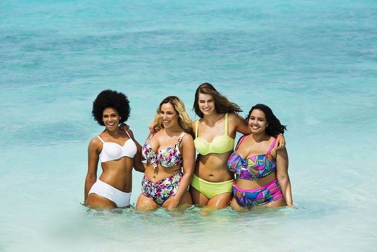 Plus-Size Models Beautifully Recreate Sports Illustrated Swimsuit Cover