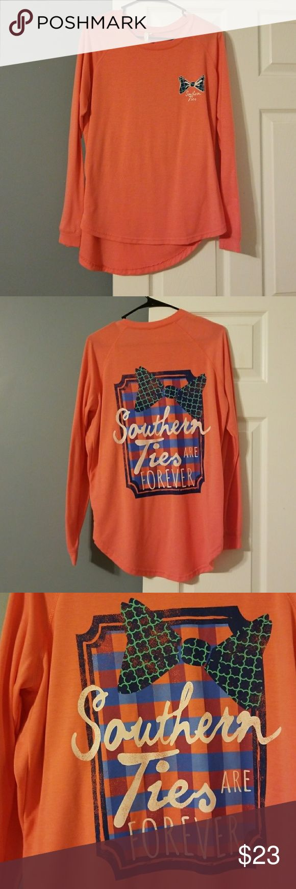 NWOT. Red Camel Southern Ties Long Sleeve Top Southern Ties Hi-Lo Tee. Perfectly soft tee and great for leggings!! Red Camel Tops Tees - Long Sleeve
