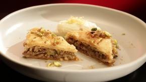 Ep28 - Pistachio & Walnut Baklava with Honey Whipped Ricotta