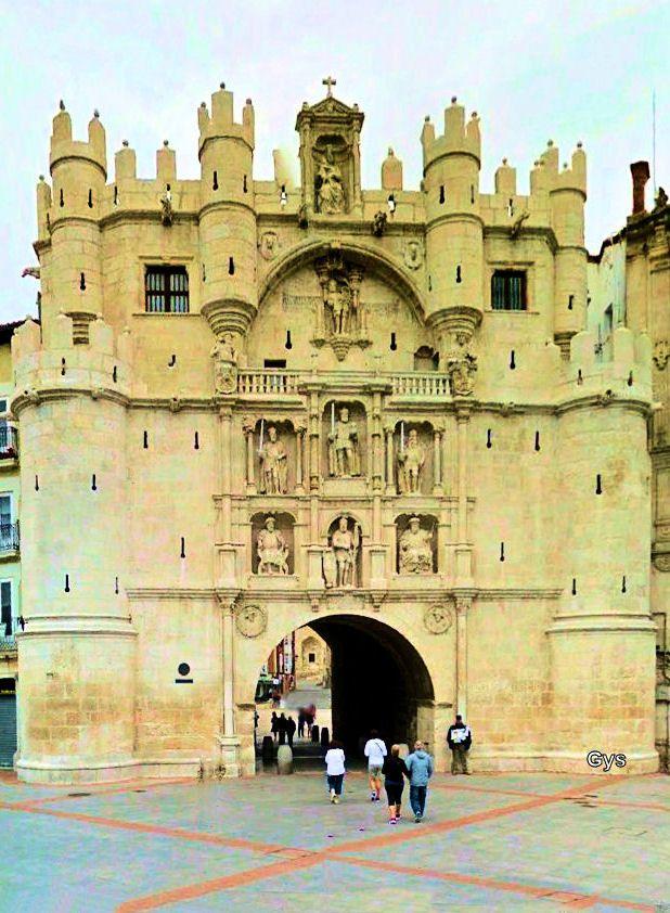 Arch of Santa Maria, Burgos, Spain