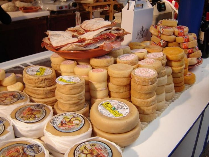 all sorts of cheese