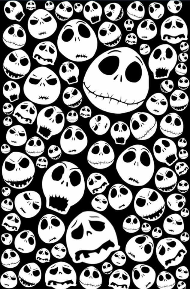 Halloween Jack Skellingtons emoticon face iPhone 4 4s 5 5c 6, pillow case, mugs…  Print custom made Halloween fabrics on http://www.digitalfabrics.com.au/