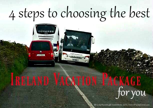 Choosing an Ireland vacation package seems simple enough. You find a deal you like and make the purchase. But it may not be so simple. Ireland travel tips.