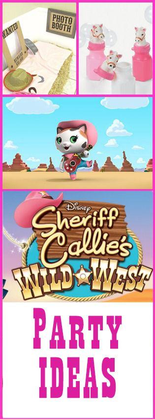 Sheriff Callie's Wild West Party Ideas