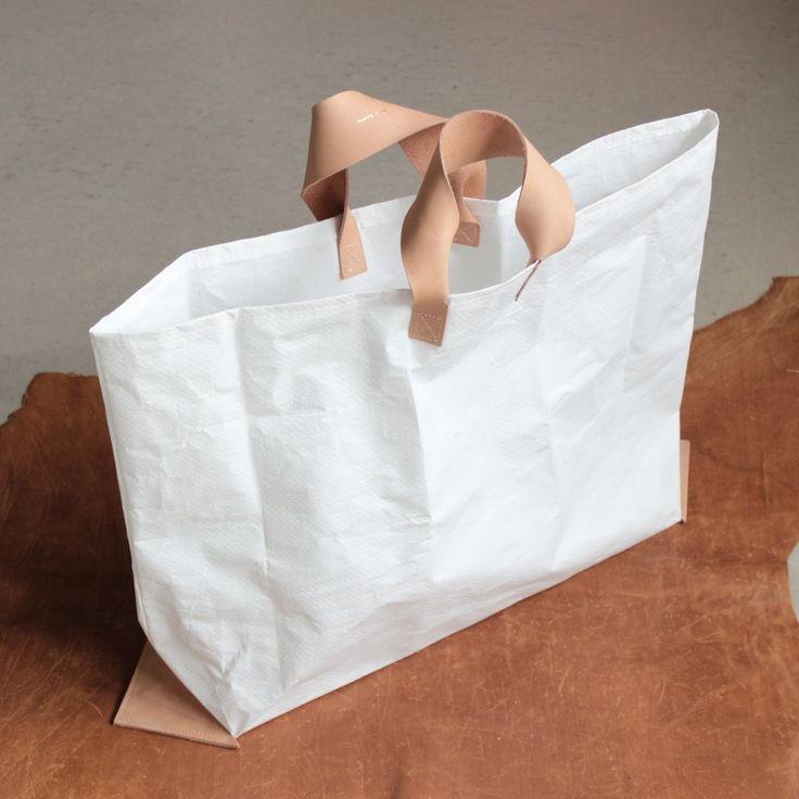 vinyl bag M #white