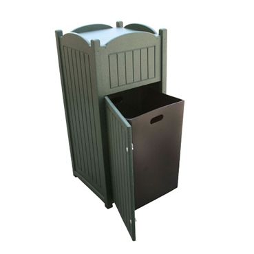 eco friendly office furniture. recycled plastic outdoor trash bin eco friendly furniture national business office