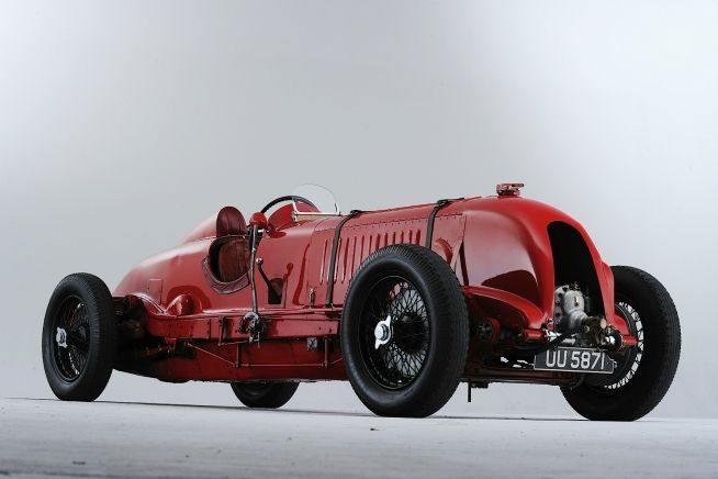 1929 Bentley 4 1/2 Liter (litre) Supercharged Racing. Won 1929 Irish Grand Prix, the Brookland's Six Hour Race, and 1929 Tourist Trophy.