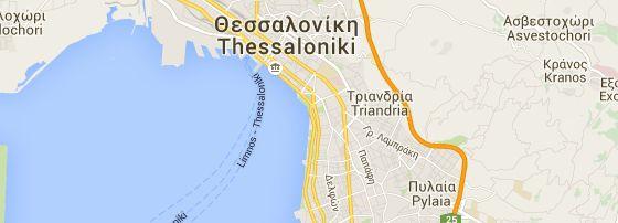 De Umbrellas van Thessaloniki is een kunstwerk vanGiorgos Zogolopoulos uit 1997. Een bezienswaardigheid van de Griekse stad.