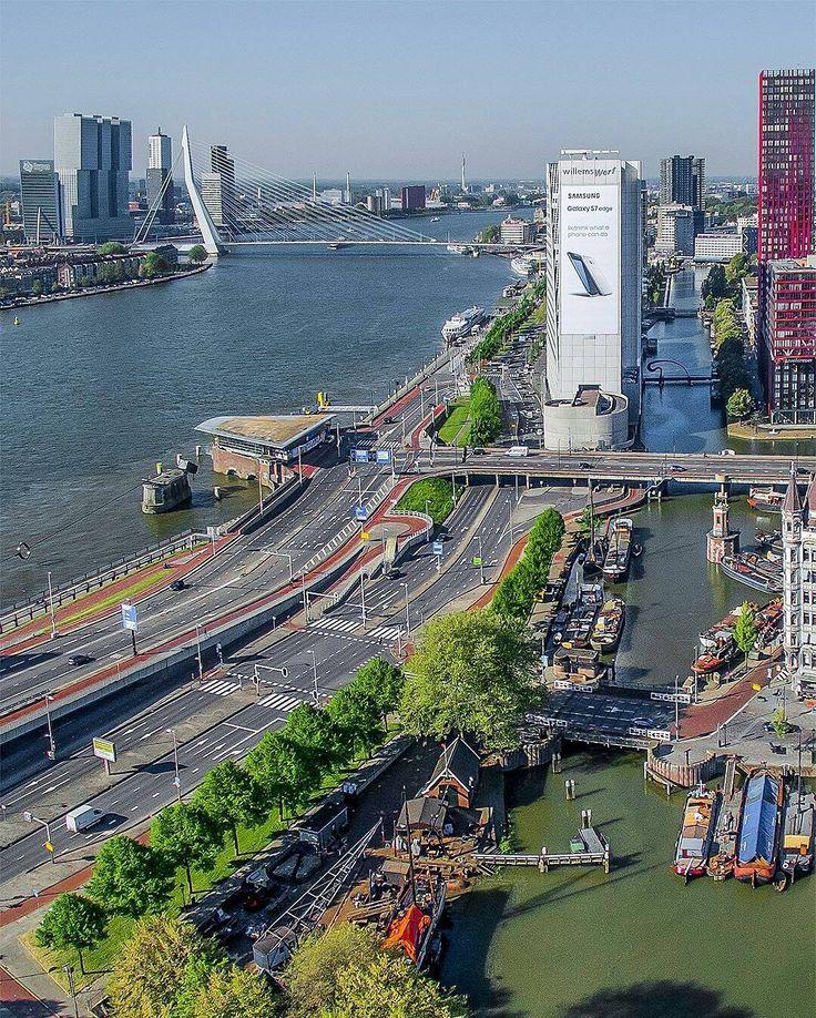 Rotterdam Boompjes Maas