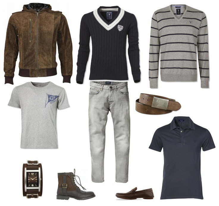 JOUBERT pour homme:  Collection of items from GANT, GUESS, etc