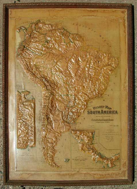 The Best Images About Raised Relief On Pinterest Bobs Maine - Us raised relief topographical map