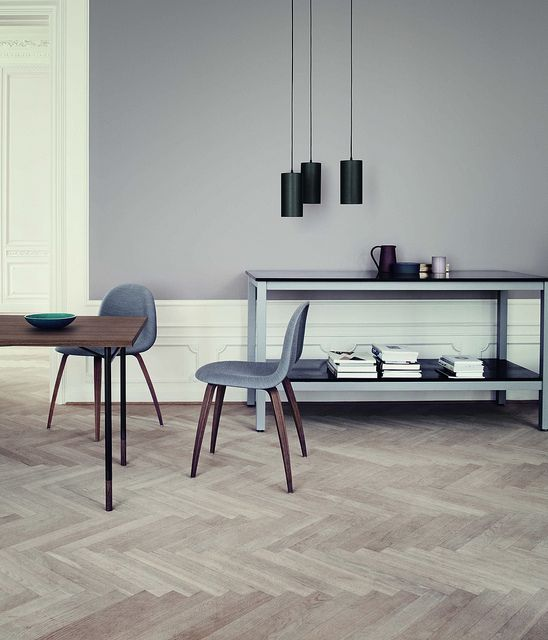 Gather/cph perfect scandinavian greys eames chair great flooring ash colour blonde