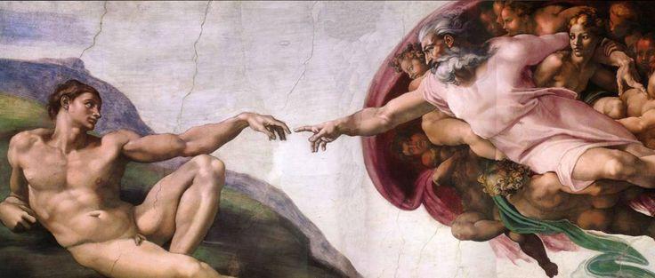 Creazione di Adamo  Cappella Sistina