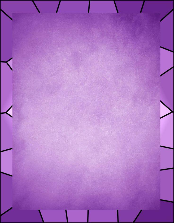 Caratula fondo lila con estilo para Word                                                                                                                                                                                 Más