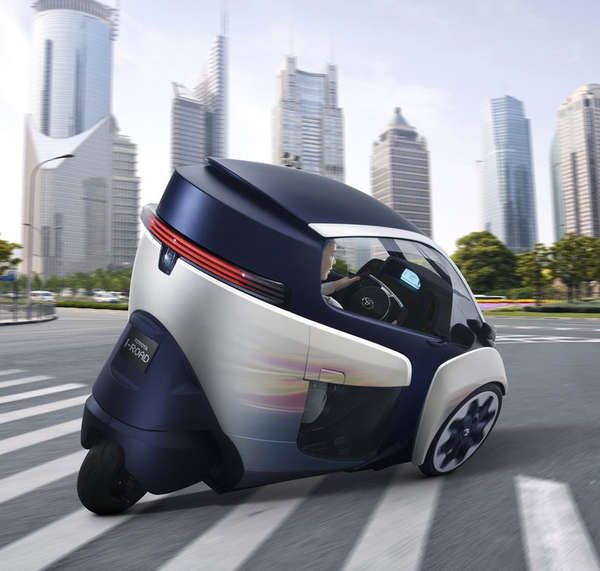 The Toyota i-Road Electric Personal Mobility Vehicle is Eco-Friendly #Cars #Automobiles
