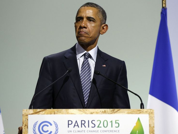 """Barack Obama has accused Donald Trump of """"rejecting the future"""" by pulling out of the Paris climate deal. The former US President said those nations that remained signed up to the accord would """"reap the benefits in jobs and industries created"""". But he added: """"This Administration joins a small handful of nations that reject the future."""""""