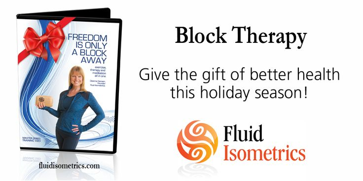 Give the gift of health, healing and rejuvenation this Christmas with Block Therapy.  http://www.fluidisometrics.com/