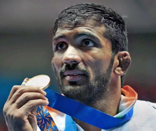 The Bronze Medal of the Indian Wrestler Yogeshwar Dutt has been upgraded to silver from Bronze after second –place finisher late Besik Kudukhov of Russia was stripped off his medal for failing a dope test.
