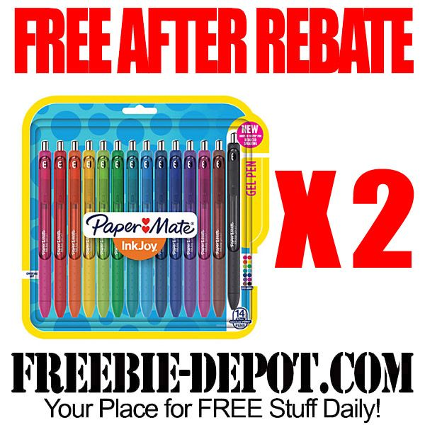 ►► FREE AFTER REBATE - PaperMate Pens from Office Depot - LIMIT 2 - Exp 4/2/16 ►► #Free, #FreeAfterRebate, #FREEbate, #OfficeDepot, #OfficeMax, #Papermate ►► Freebie-Depot