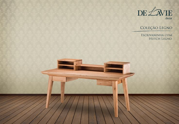 As virtudes da madeira em seu estado bruto são enaltecidas nas peças desta coleção que utiliza matéria-prima nobre.