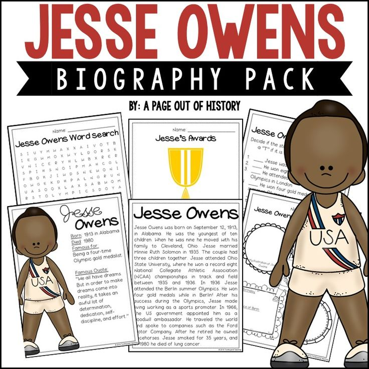 jesse owens essay example 'who for the game' by jesse pope, 'dulce et decorum est' by wilfred owen, and 'disabled' by wilfred  owen's poems are an excellent example of poetry exposing the.