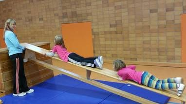 Eltern-Kind-Turnen: WSV Schwarzenbach a.Wald