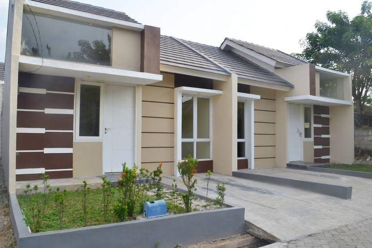 Rumah minimalis modern 1 lantai type 36/60