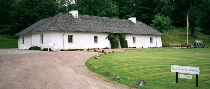Clan Cameron Museum at Achnacarry