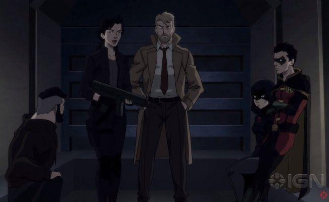 Heroes Luchan Contra Darkseid En Justice League Dark Apokolips War Justice League Dark Justice League War Raven Justice League