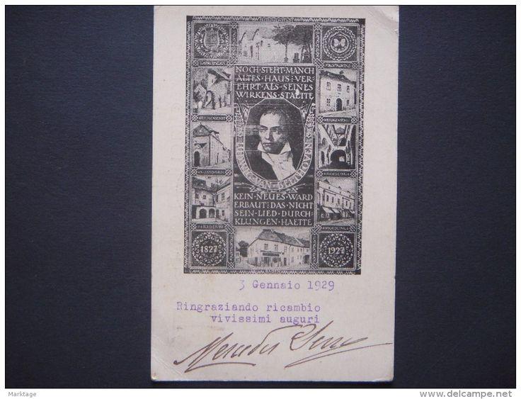 CARTOLINA POSTALE 1929 - Delcampe.it