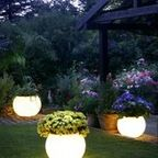 Grand Effects Vertical Torch (Column Mount) Automated 1-Torch System - mediterranean - outdoor lighting - by PoolSupplyWorld.com