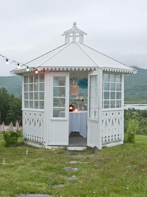 ... Formal gazebo, Perfect for a wedding or reception. Repinned by www.loisjoyhofmann.com