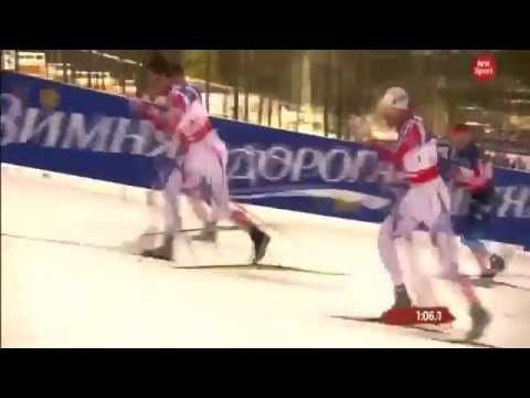 Petter Northug Amazing WIN - Classic Sprint Cross Country World Cup 2015...