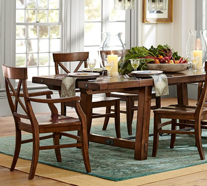 Benchwright Extending Dining Table Pictures Gallery
