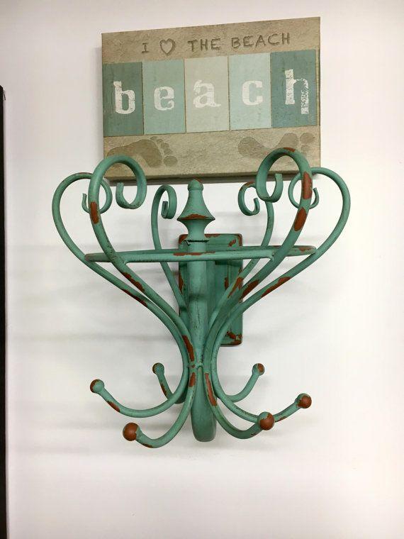 Decorative Green Hooks