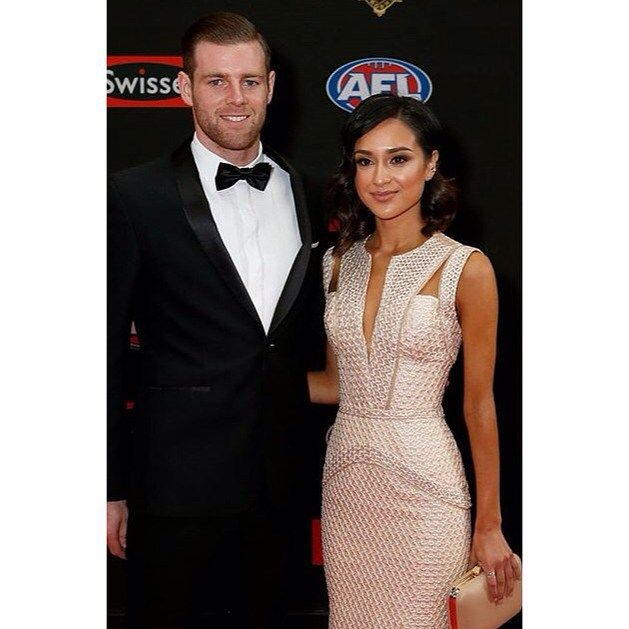 What a pleasure it was being able to dress this gorgeous young women Natalie Cini  for tonight's Brownlow awards