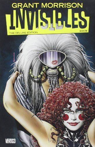 The Invisibles Book One Deluxe Edition by Grant Morrison,http://www.amazon.com/dp/1401245021/ref=cm_sw_r_pi_dp_VTtAtb1XJ6HW0437