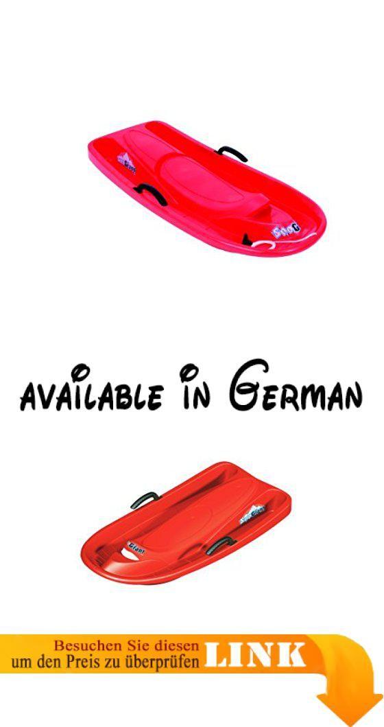 Hamax Schlitten & Rodel - Bobs Sno Giant, red, 505001. Qualität. Material HDPE, bleibt auch bei tiefen Temperaturen flexibel. Modernes Design. Fahreigenschaften. Spaßfaktor #Sports #SPORTING_GOODS
