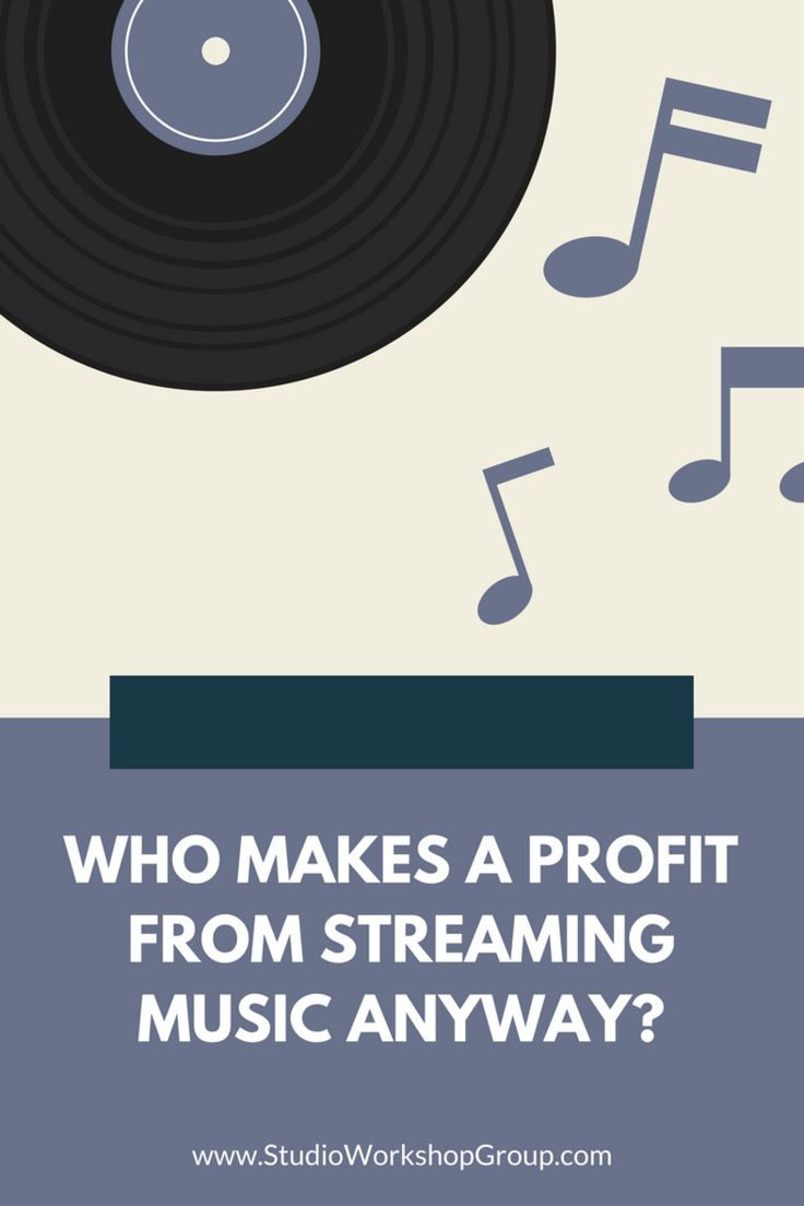 Who Makes A Profit From Streaming Music Anyway? - For the last few years, there have been many debates about whether or not artists and songwriters are properly being compensated for the work from digital music services. In 2016, digital consumption completely overtakes physical music products. Online streaming services like Spotify and Pandora are ruffling feathers within the recording music industry because artists don't feel they're being compensated enough.