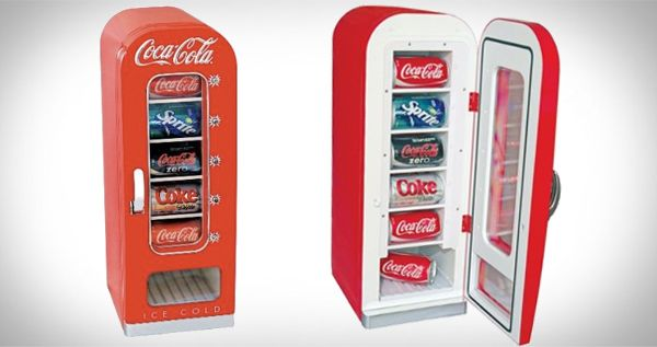 Koolatron 10 can vending fridge cool shit you can buy for Cool things to buy for your house