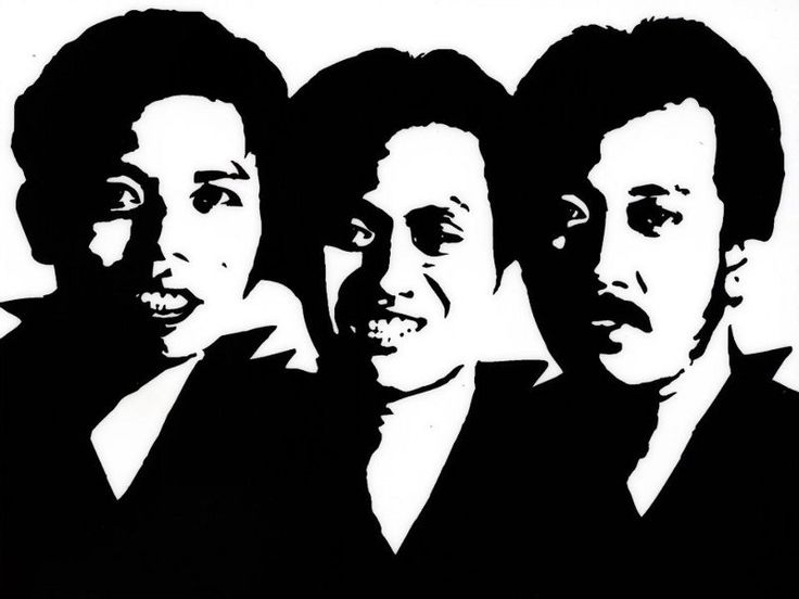 Warkop DKI (Dono, Kasino & Indro) - indonesian legendary comedians. Their movies are timeless, some are very funny some are so so:)