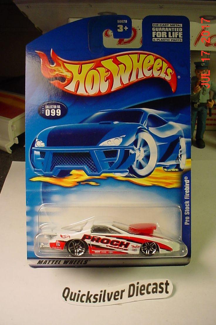 Hot wheels pro stock firebird white 2001 099 bp