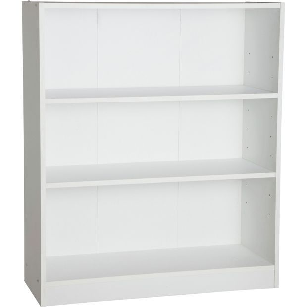 Buy HOME Maine Small Extra Deep Bookcase - White at Argos.co.uk, visit  Argos.co.uk to shop online for Bookcases and
