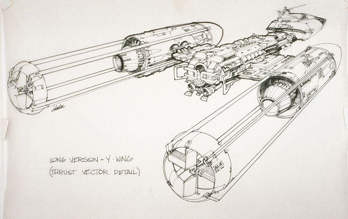 Star Wars - Long Version Y-Wing ✤ || CHARACTER DESIGN REFERENCES | キャラクターデザイン |