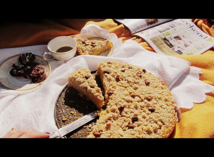 Crumble Tart with Pumkin http://atelier-carmen.blogspot.ro/2014/10/tarta-crumble-cu-dovleac.html