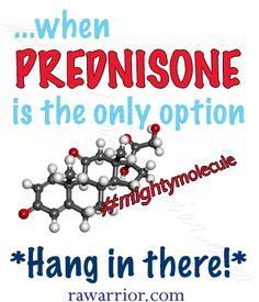 Do you have that love/hate relationship with medicine? ‪#‎rheum‬ Ever know that prednisone is the only thing that will help? Yet dread the side effects? http://rawarrior.com/t…/prednisone-and-rheumatoid-arthritis/
