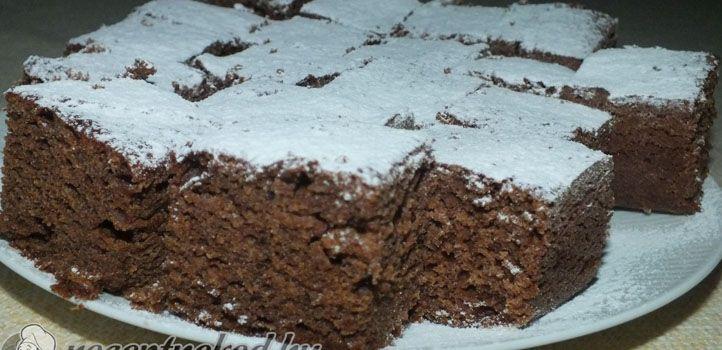 Lekváros kakaós kevert süti