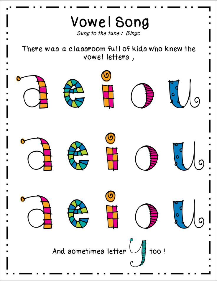 Inspired by Kindergarten: Vowels (freebie)