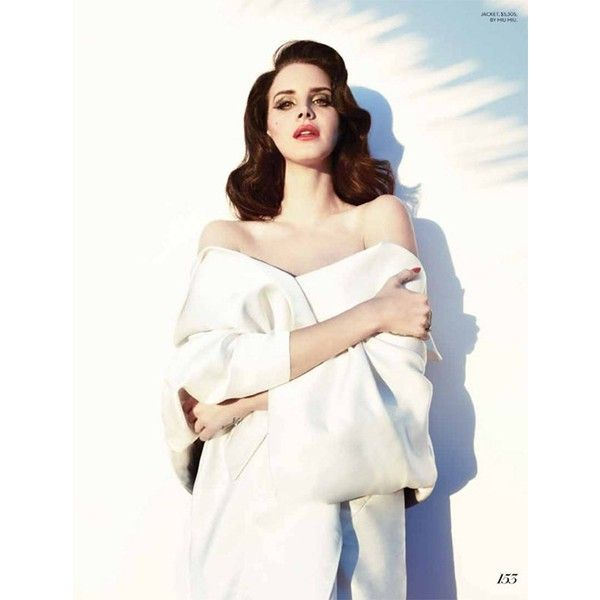 FASHION MAGAZINE Lana del Rey by Photographers Mark Williams Sara... ❤ liked on Polyvore featuring lana del rey